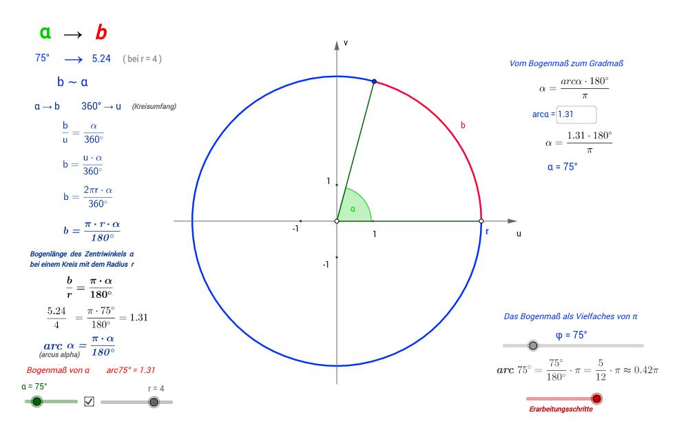 Trigonometrie - GeoGebraBook