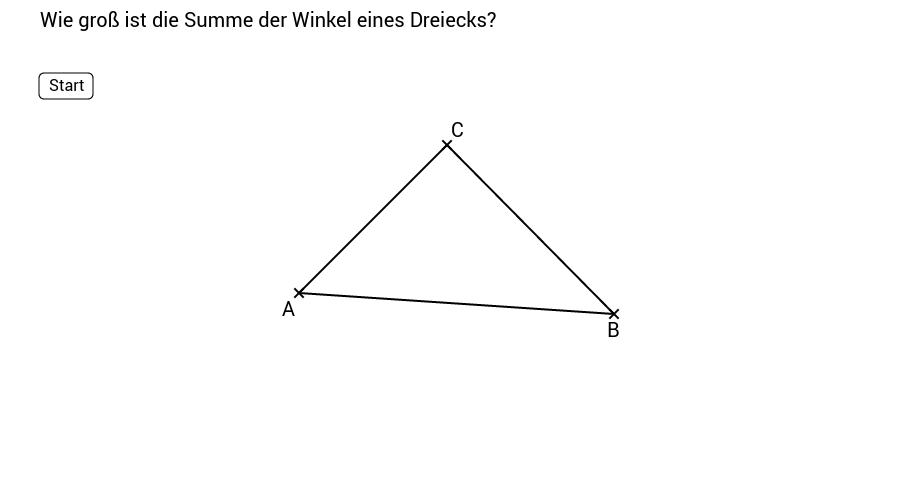 Dreiecke - Eigenschaften - GeoGebraBook