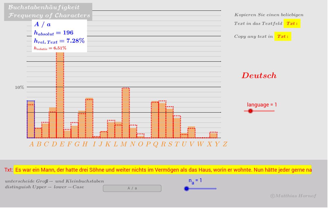 Statistik und Wahrscheinlichkeit - GeoGebraBook