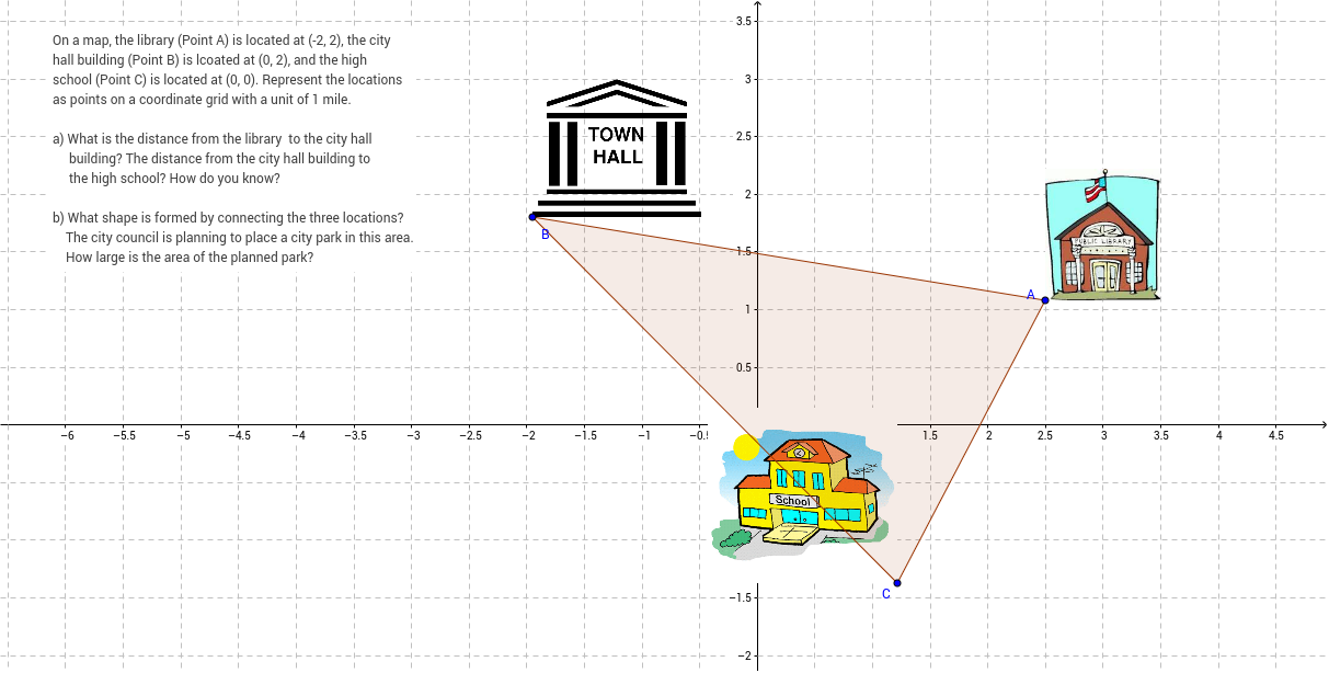 Chapter 1 essentials of geometry geogebrabook coordinate geometry problem ccuart Images