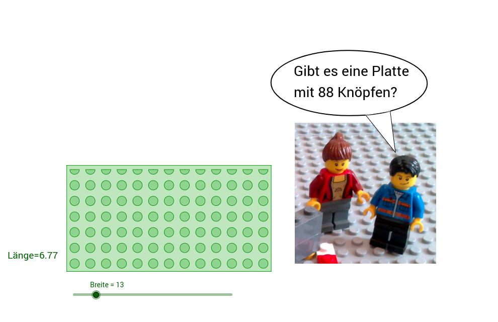 LEGO-Mathematik: Flächeninhalt und Primzahlen - GeoGebraTube