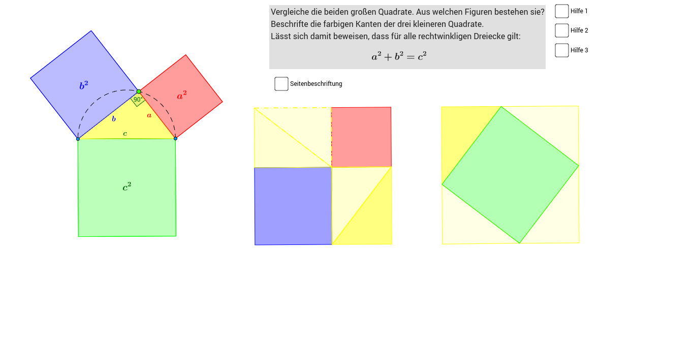 Pythagoras - GeoGebraBook