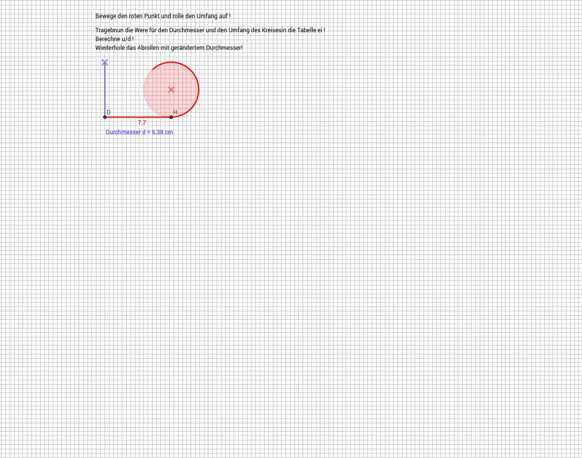 Kreis - 4. Klasse - GeoGebraBook