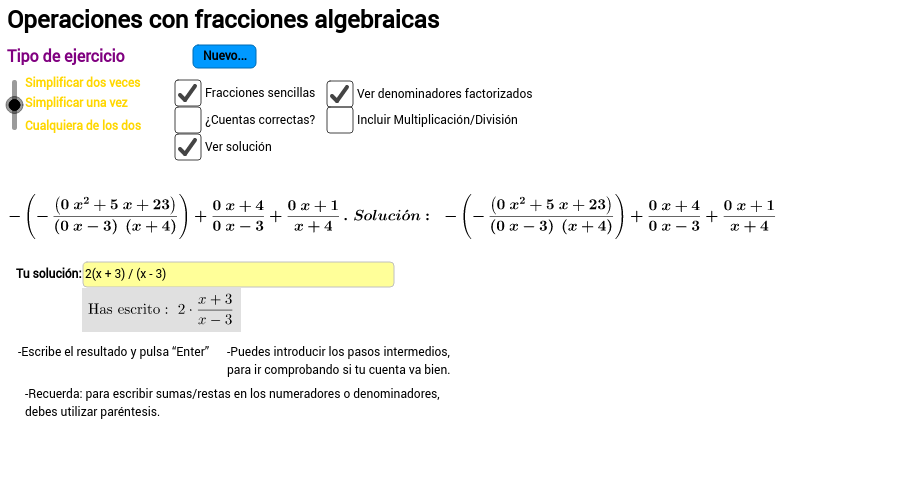 4ºESO. Matemáticas Académicas - GeoGebraBook