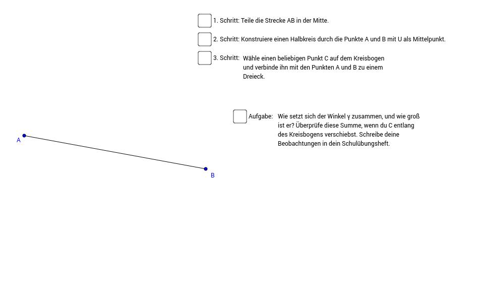 Rechte Winkel - GeoGebraBook