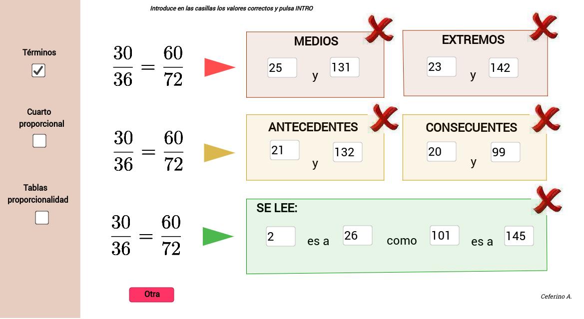 1ºESO. Proporcionalidad - GeoGebraBook