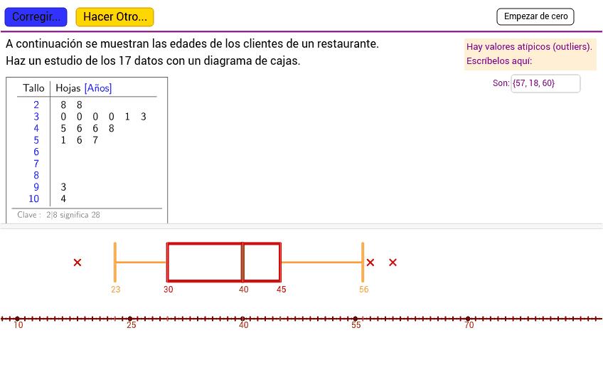 1ºESO. Estadística - GeoGebraBook